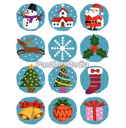 christmas illustrations santa claus christmas tree