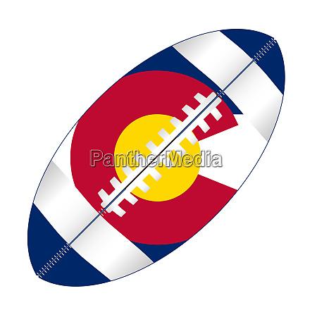 colorado state usa football flag