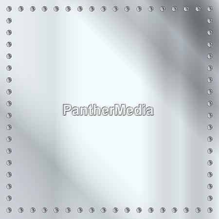 steel plate backdrop