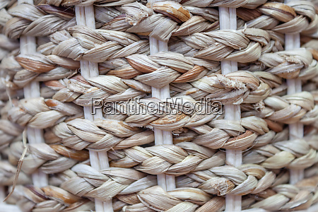 close up handcraft weave texture background