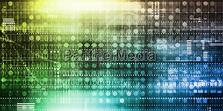 futuristic interface business
