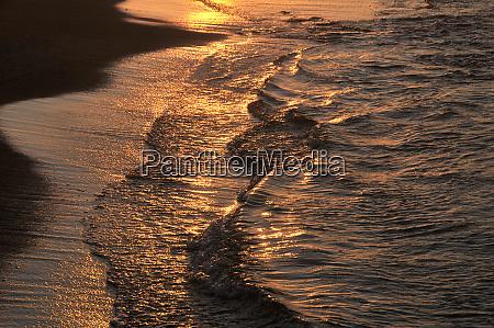 sundown on crete