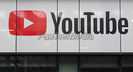 london sep 2019 youtube sign