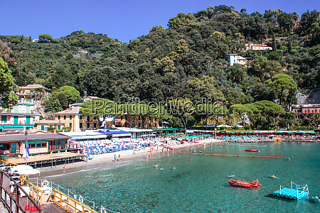 beach known as paraggi near portofino