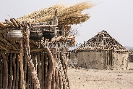 africa namibia opuwo traditional himba huts