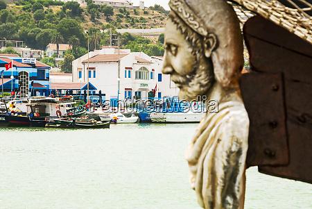 tabarka the port figurehead of ship