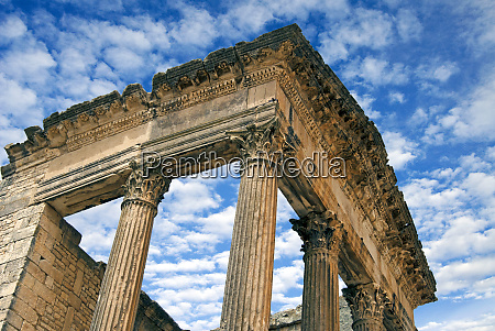 the, capitol, , dougga, archaeological, site, , unesco - 27326002