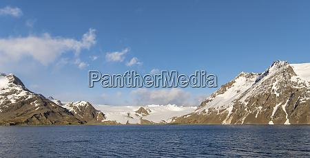 fortuna bay with fortuna glacier made