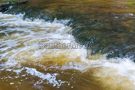 abstract background made of flowing water