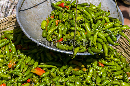 chili for sale close up wangdue