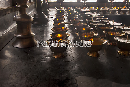 buddhist prayer candles