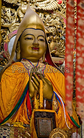 zhong ke ba famous monk founder