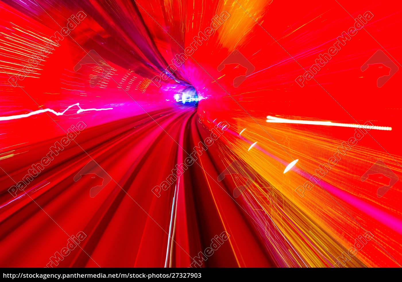 red, yellow, rail, abstract, underground, railway - 27327903