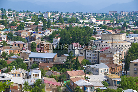 view of kutaisi second largest city