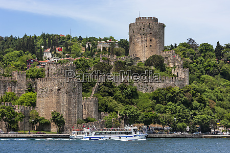 rumeli castle istanbul turkey