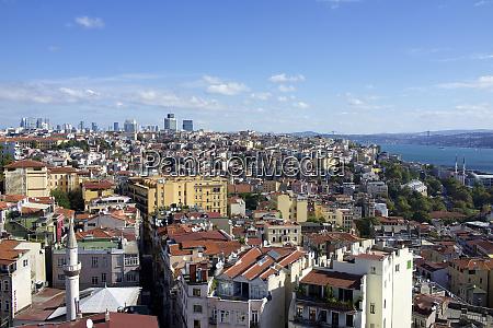 turkey istanbul views from galata tower