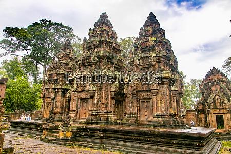 banteay srei angkor siem reap cambodia