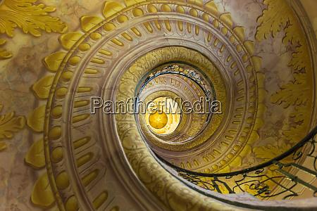 stairway in the abbey melk abbey