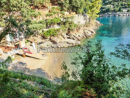 beach, known, as, paraggi, near, portofino - 27329369