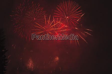 summer fireworks show