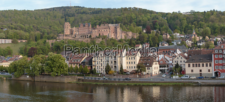 old town city center heidelberg germany