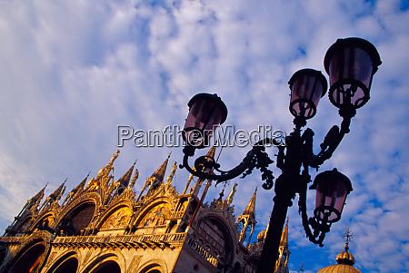 europe italy venice byzantine basilica and