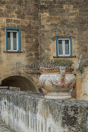 italy basilicata province of matera stone
