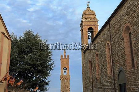 italy tuscany siena montalcino chiesa della