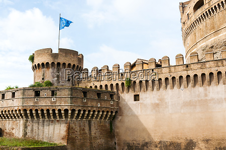 mausoleum of hadrian also known as