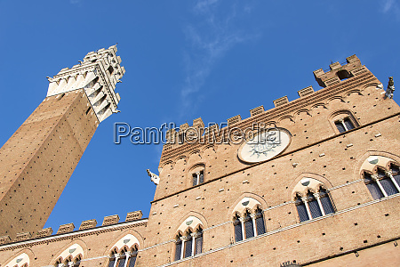 europe italy siena il campo historic