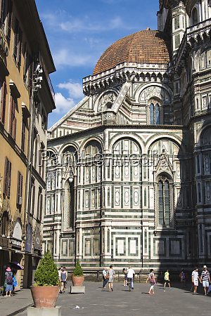 europe italy florence duomo and piazza
