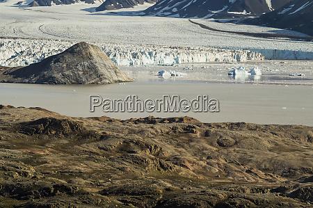 arctic ocean norway svalbard arctic landscape