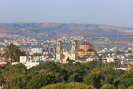 cityscape of paphos pafos republic of