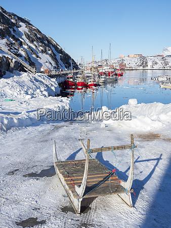 nuuk harbour nuuk capital of greenland