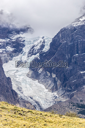 chile patagonia mountain glacier