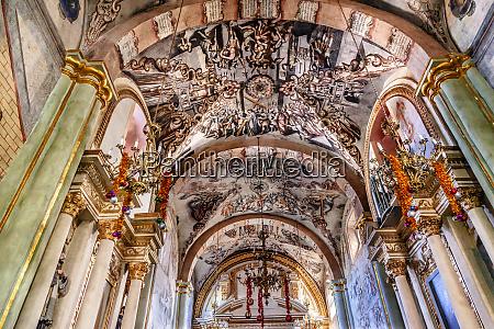 frescoes sanctuary of jesus atotonilco mexico