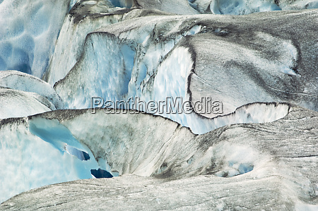 usa alaska inside passage glacier patterns