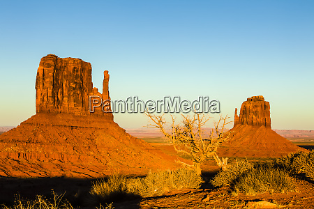 usa arizona monument valley west and