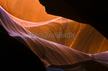 usa arizona upper antelope canyon sandstone