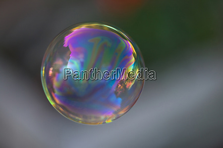 usa california reflection on floating bubble