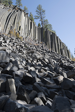 devils postpile national monument mammoth mountain