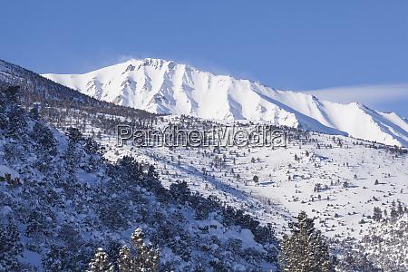 usa california sierra nevada range mountain