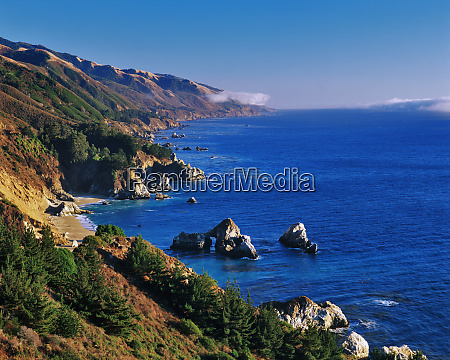 usa california julia pfeifer state park