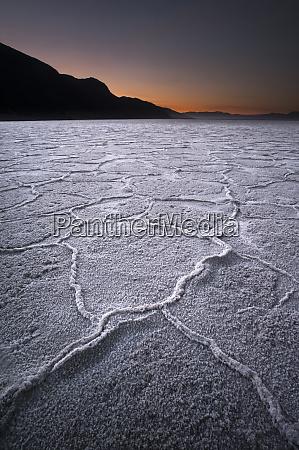 usa california first light over salt