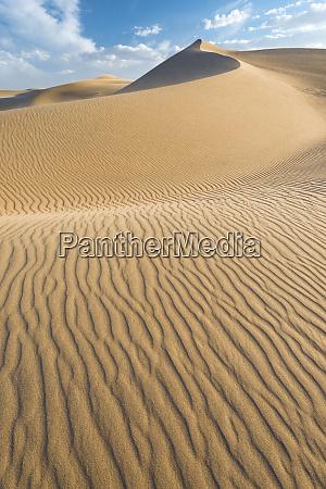 usa california windblown sand dunes and