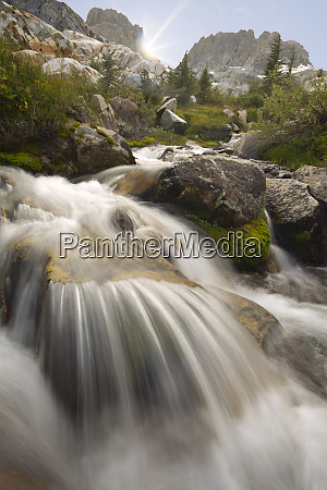 usa, , california, , inyo, national, forest., stream - 27338336