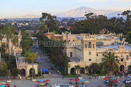 view from california tower museum of