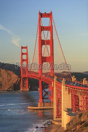 view of golden gate bridge san