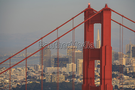 view from golden gate national recreation