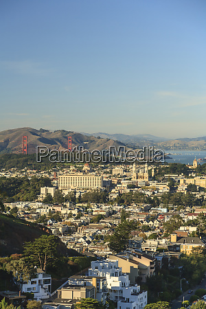 sweeping view of san francisco from